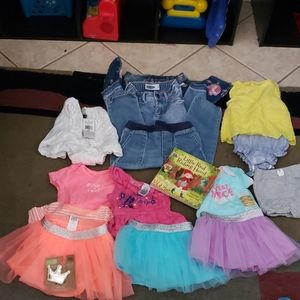 Girls bundle, new and used.